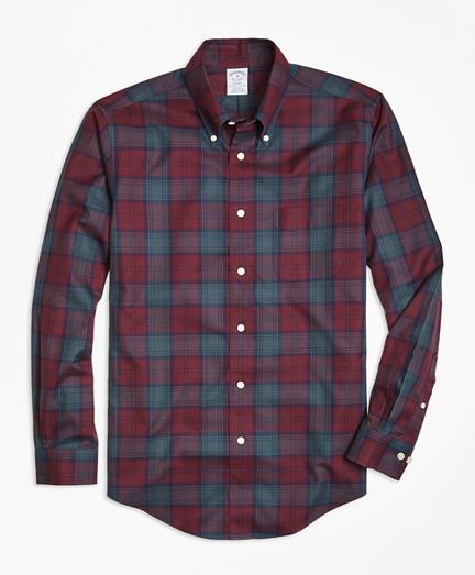 Non-Iron Regent Fit Lindsay Tartan Sport Shirt