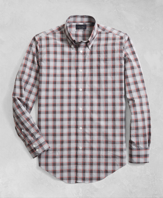Golden Fleece® Regent Fit Multi-Plaid Flannel Sport Shirt Multi