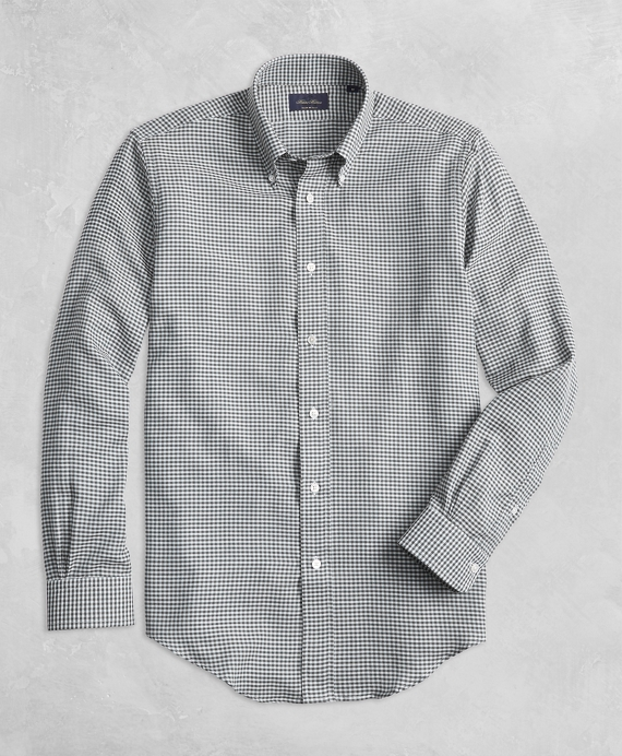 Golden Fleece® BrooksTech™ Regent Fit Yarn-Dyed Check Sport Shirt