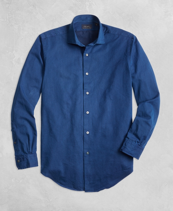 Golden Fleece® Regent Fit Indigo Sport Shirt Indigo