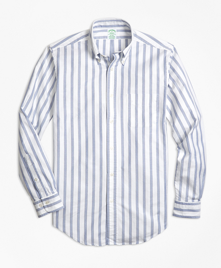 Milano Fit Oxford BB#1 Stripe Sport Shirt