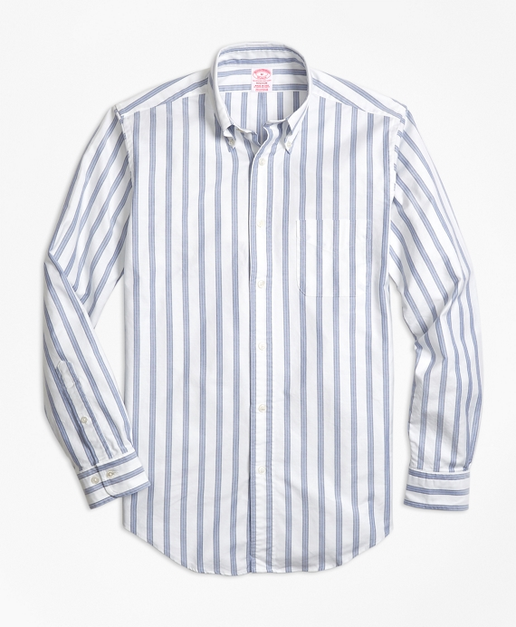 Madison Fit Oxford BB#1 Stripe Sport Shirt