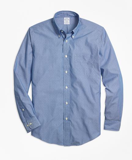 Regent Fit Dobby Micro-Stripe Sport Shirt