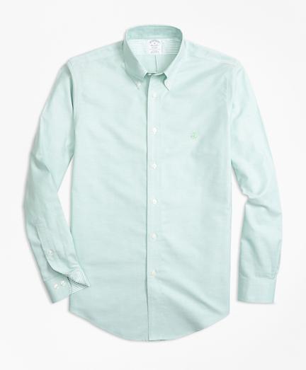 Non-Iron Regent Fit Supima® Cotton Oxford Sport Shirt