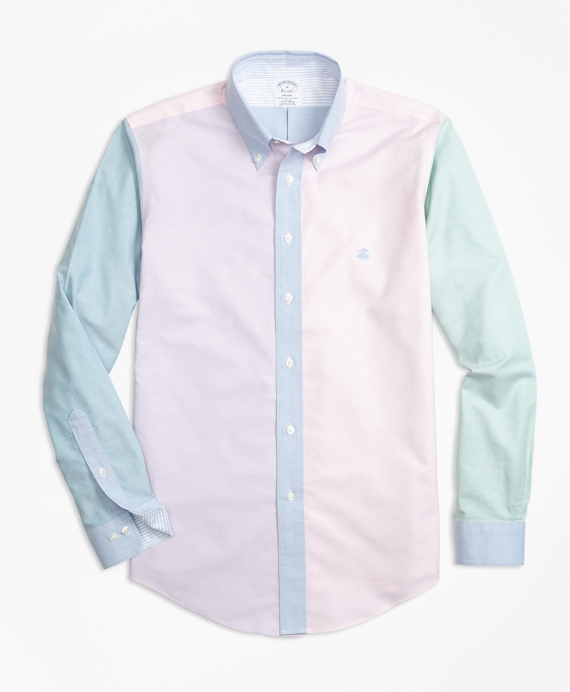 Non-Iron Regent Fit Supima® Cotton Oxford Fun Sport Shirt