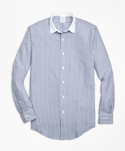 Regent Fit Multi-Stripe Sport Shirt