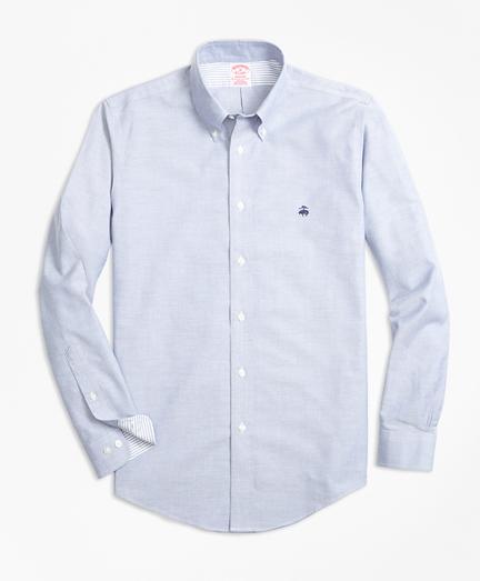 Non-Iron Madison Fit Supima® Cotton Oxford Sport Shirt