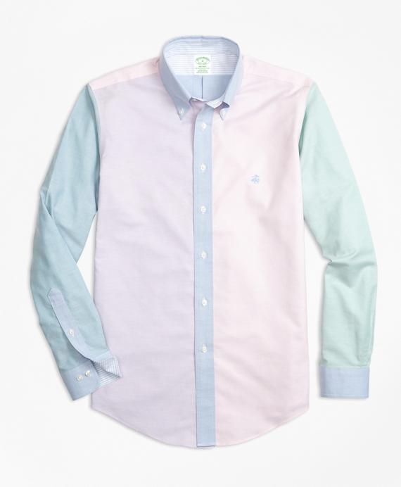 Non-Iron Milano Fit Supima® Cotton Oxford Fun Sport Shirt