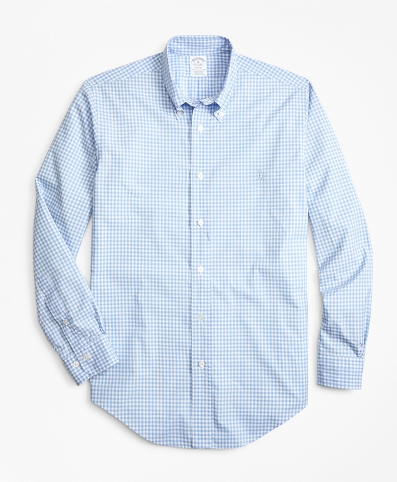 Regent Fit Gingham Zephyr Sport Shirt
