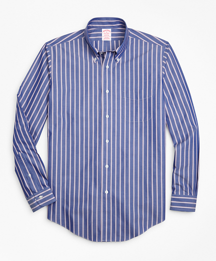Non-Iron Madison Fit Ribbon Stripe Sport Shirt