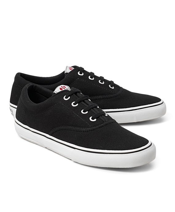 Superga® Classic Deck Sneakers Black