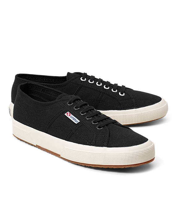 Superga® Canvas Sneakers Black