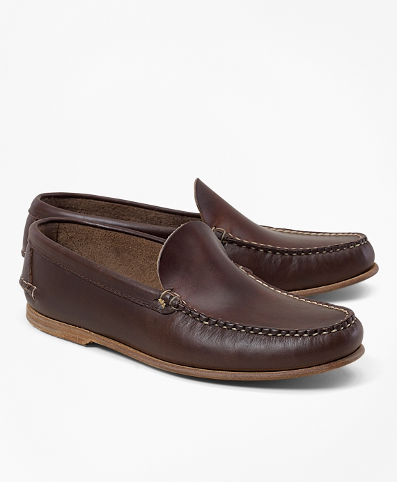 Rancourt & Co. Vintage Venetian Loafers Brown