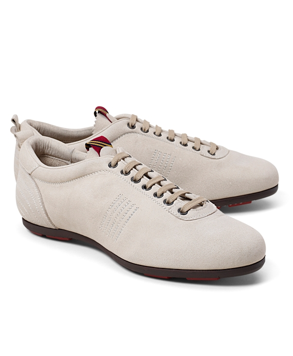 Pantofola d'Oro Suede Sneakers Tan