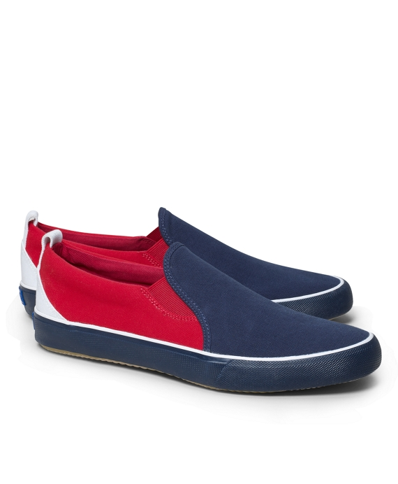Color-Block Keds® for Brooks Brothers Navy