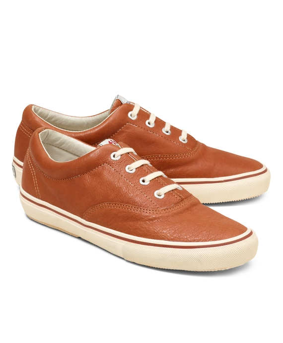 Superga® Leather Sneakers Tan