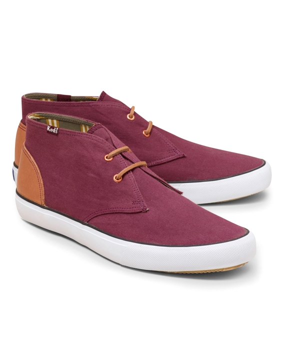 Keds® for Brooks Brothers Chukka Boots Red
