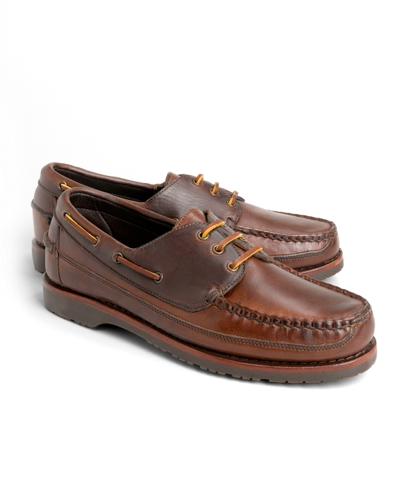 Mini Lug Sole Boat Shoes Dark Brown