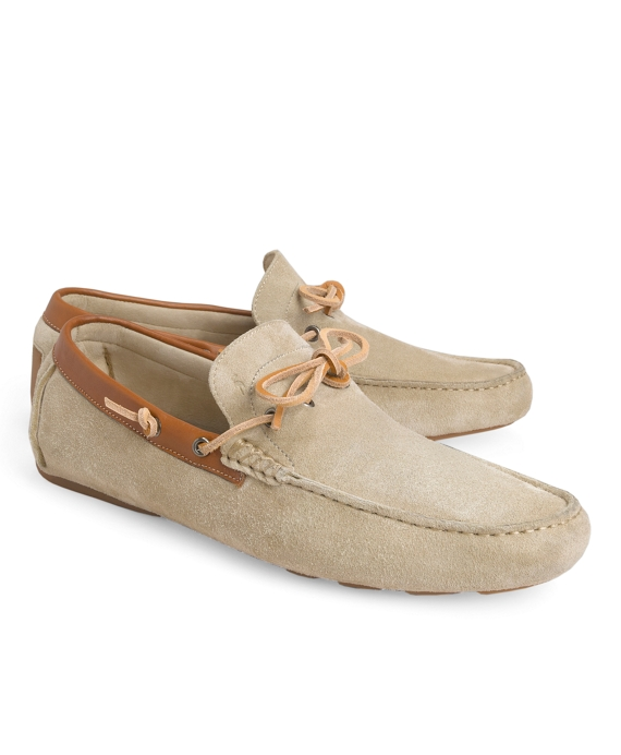Harrys Of London® Henley Tie Driving Mocs Natural
