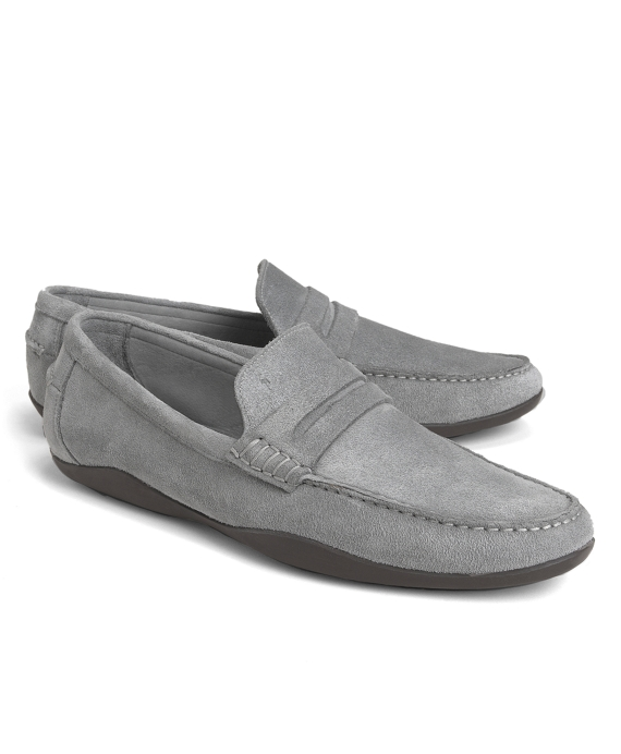 Harrys Of London® Basel Penny Loafers Grey