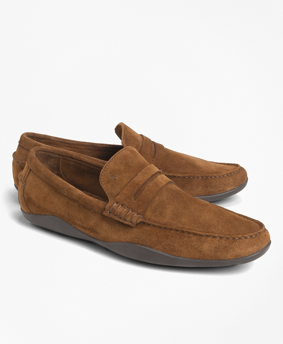 Harrys Of London® Basel Penny Loafers Tobacco