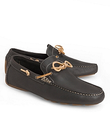 Harrys Of London® Henley Tie Leather Driving Mocs
