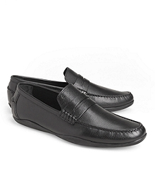 Harrys of London Basel Leather Penny Loafers