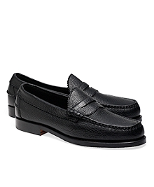 Allen Edmonds Beef Roll Pebble Penny Loafers