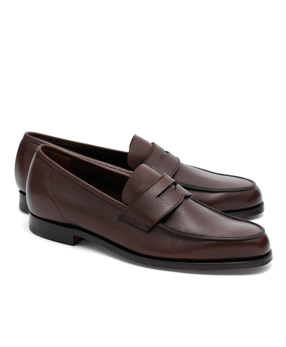Peal & Co.® Lightweight Penny Loafers Dark Brown