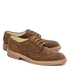 Peal & Co.® Distressed Suede Wingtips