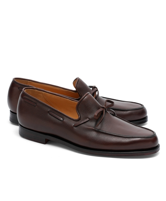 Peal & Co.® Lightweight Tie Loafers Dark Brown