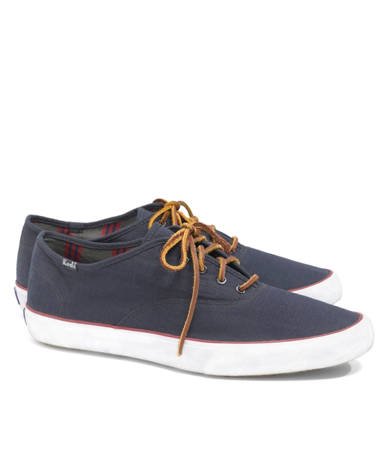 Keds® for Brooks Brothers Ripstop Lace-Up Sneakers Navy