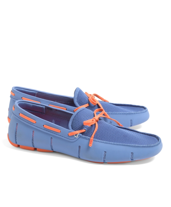 SWIMS Lace Front Loafers Blue