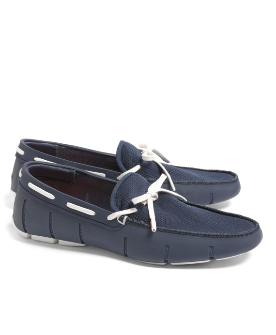 SWIMS Lace Front Loafers Navy