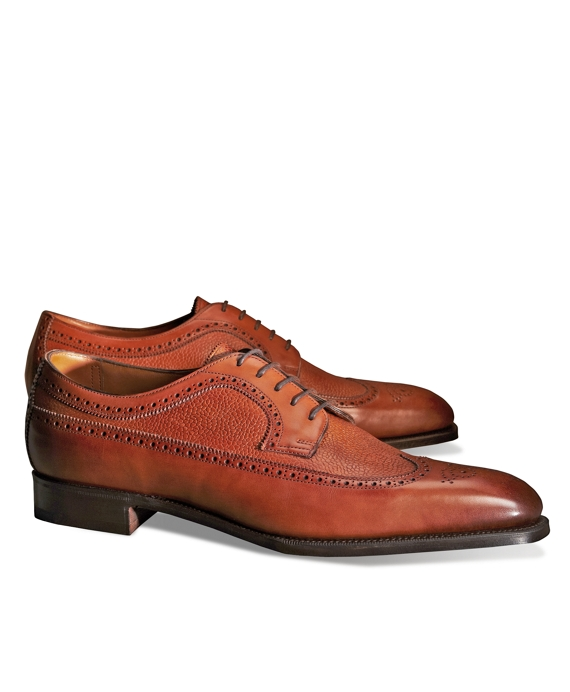 Edward Green Harrogate Longwing Brogue Brown