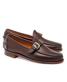 Rancourt & Co Calfskin Buckle Loafers