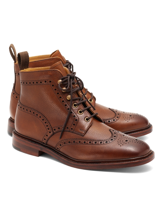 Pebble Grain Wingtip Boot Cheap Sale Fast Delivery Pay With Paypal Sale Online The Cheapest For Sale qchAS