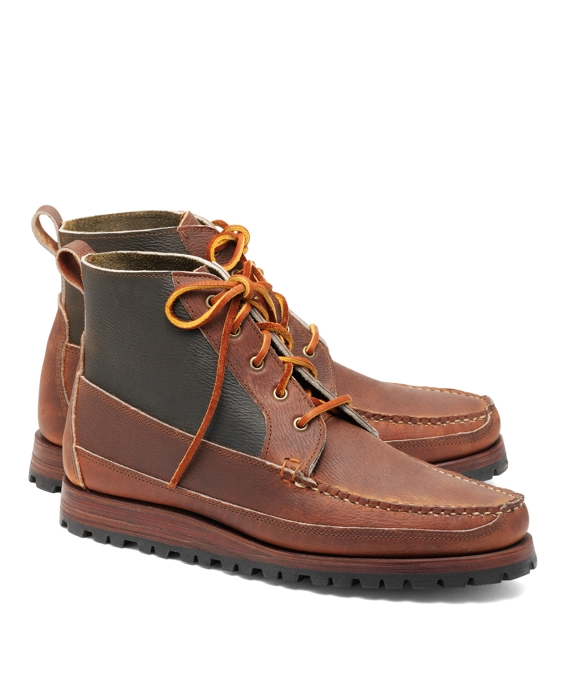 Rancourt & Co Five-Eyelet Mudguard Boots Brown