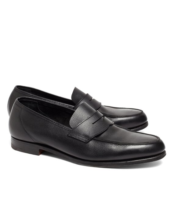 Lightweight Pebble Loafers Black