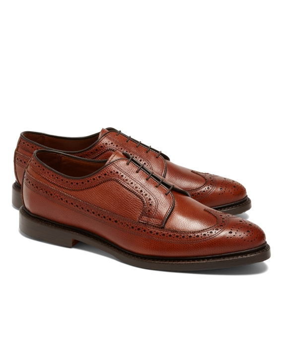 Long Wingtips Brown