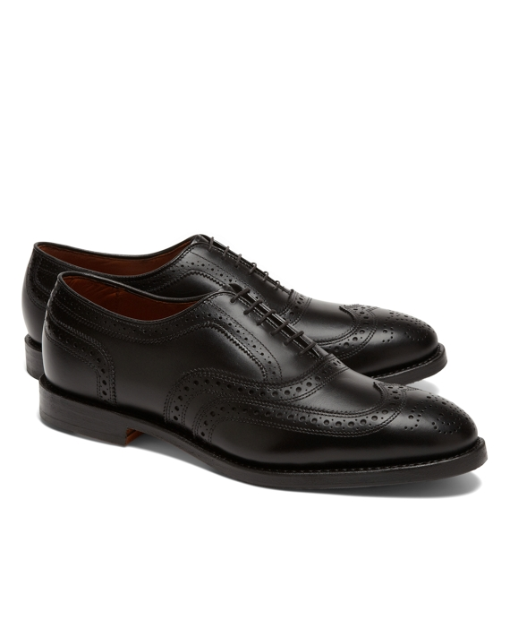 Leather Wingtips Black