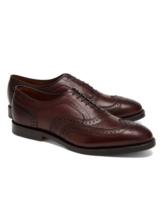Leather Wingtips Burgundy