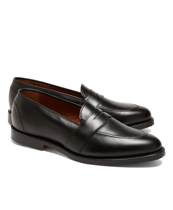 Low Vamp Penny Loafers Black