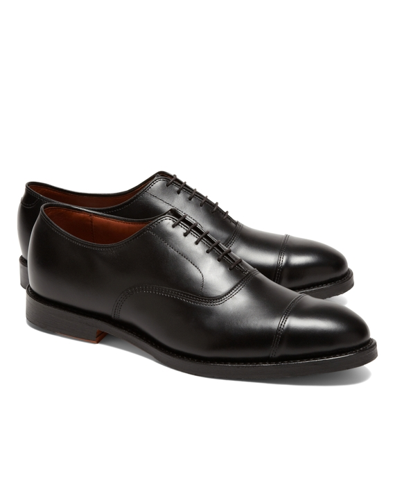 Allen Edmonds for Brooks Brothers Leather Captoes Black