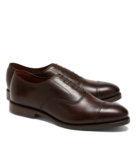 Allen Edmonds for Brooks Brothers Leather Captoes Brown