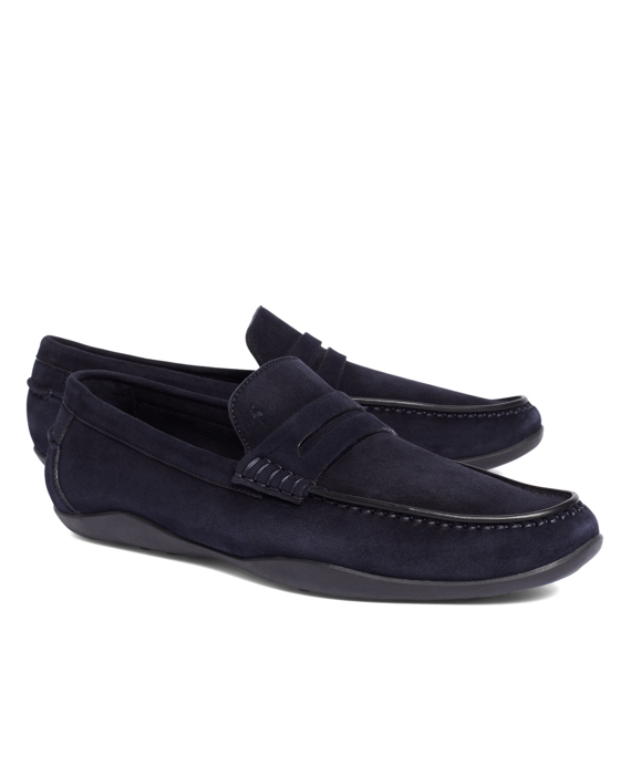 Harrys Of London® Basel Kudu Loafers Navy
