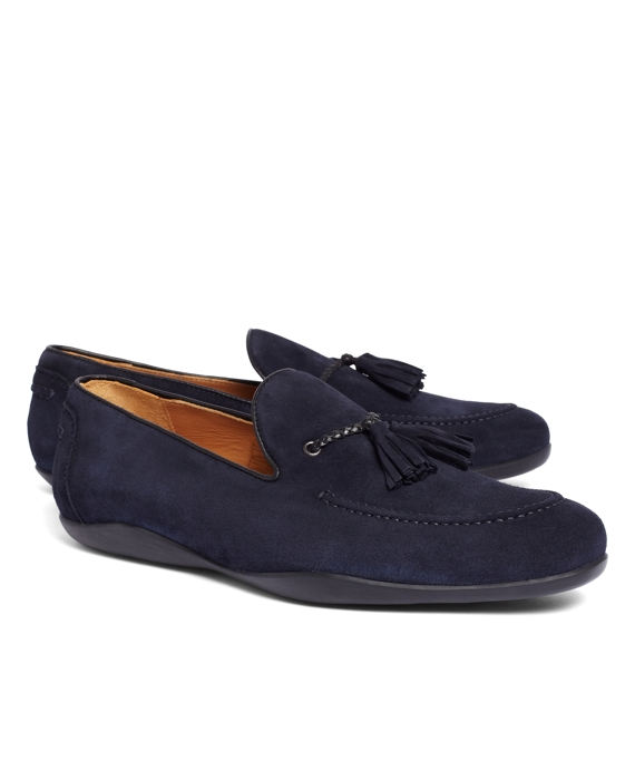 Harrys Of London® Dylan Kudu Loafers Navy