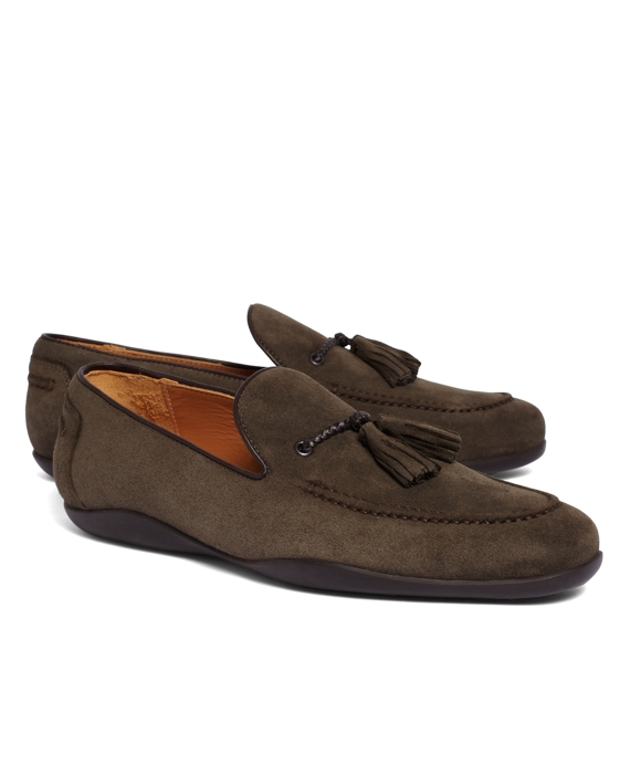 Harrys Of London® Dylan Kudu Loafers Olive