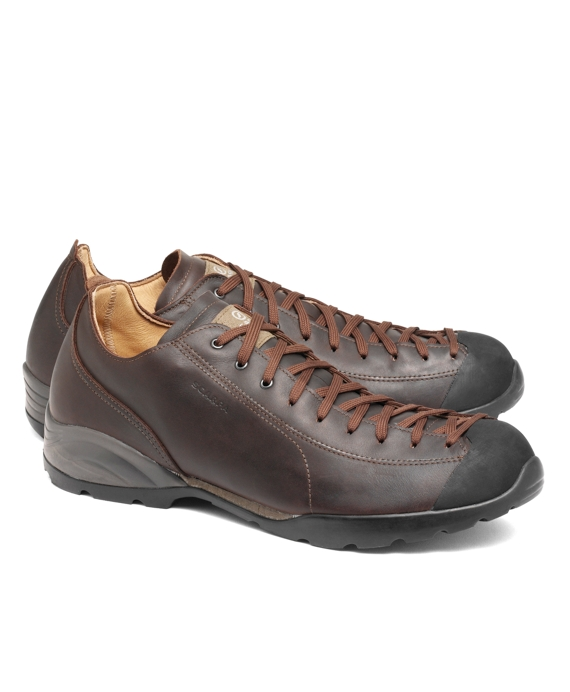 Scarpa Bult Leather Sneakers Brown