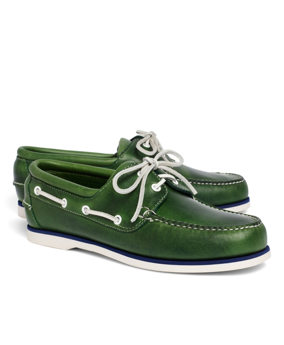 Midsole Boat Shoes Green